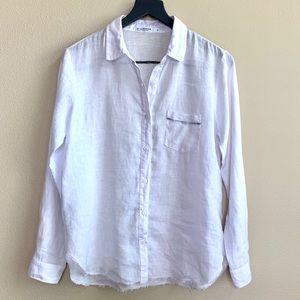 Stateside Classic Linen Button Down Shirt